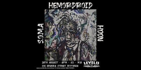 Live Music with S.O.M.A, Hemordroid and Hoon tickets