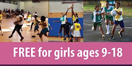 Free Skills/Drills/Leadership/Netball Program for Girls in Decatur tickets