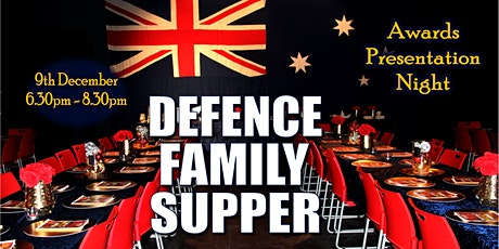 Defence Family Supper & Awards Night tickets