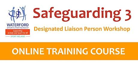 Safeguarding 3 - Designated Liaison Officer Workshop  - 1 November 2021 tickets