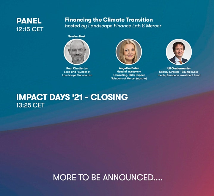 Impact Days '21: The Future of Finance image