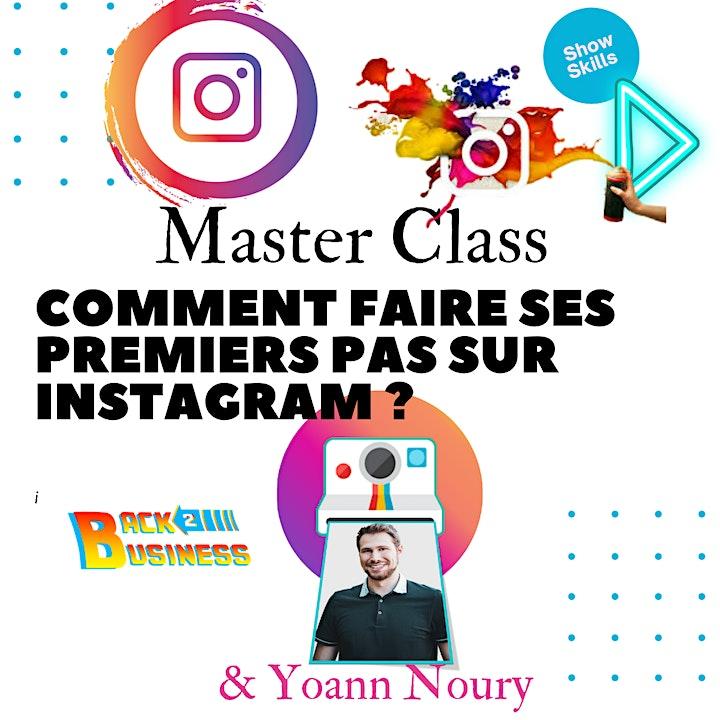 Image pour Master Class : Comment faire ses premiers pas sur Instagram ?