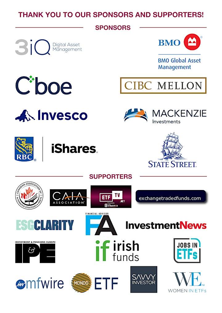 3rd Annual ETFGI Global ETFs Insights Summit - Canada image