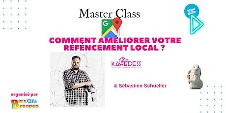 Master Class : Comment améliorer son référencement local ? billets