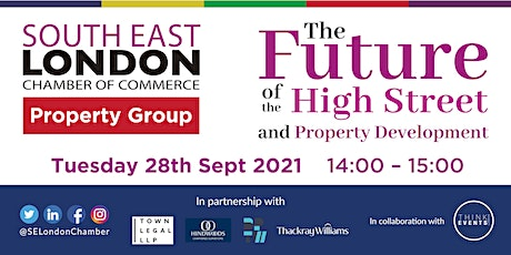 The Future of the High Street and Property Development tickets