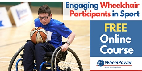 Engaging Wheelchair Participants in Sport - Wednesday 10 November 2021 tickets