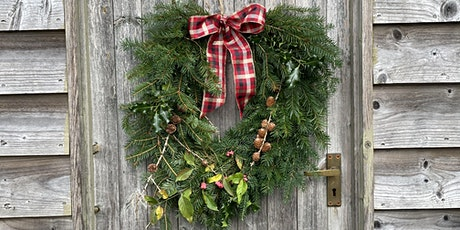 Wreath Making the Traditional Way - Morning Workshop tickets
