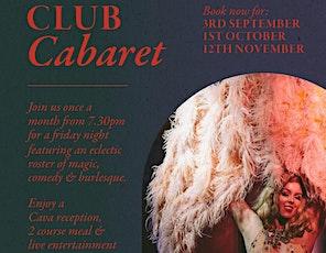 Club Cabaret at ARTA tickets