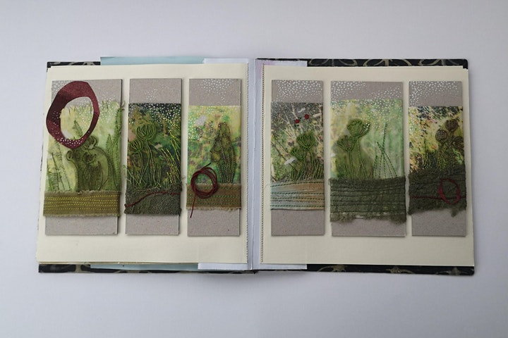 Embroiderers' Guild THREAD TALKS. Angie Hughes: Creative Icebreaking image