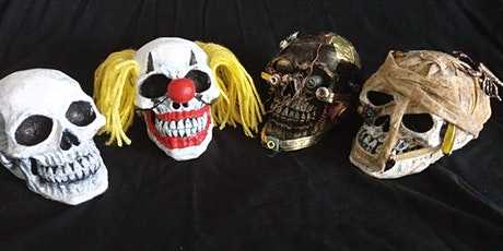 October Skull Painting Workshop tickets