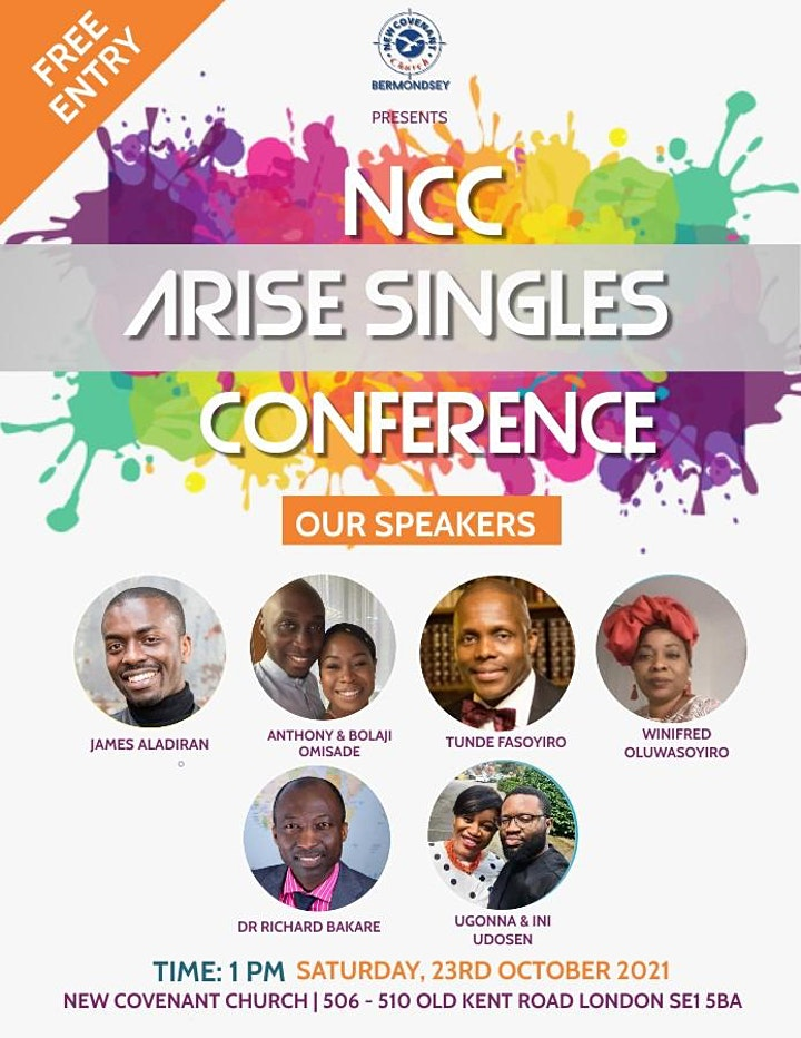 New Covenant Church (NCC) Arise Singles Conference image