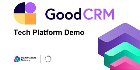 Tech platform demo: GoodCRM - CRM for arts, culture & charity tickets