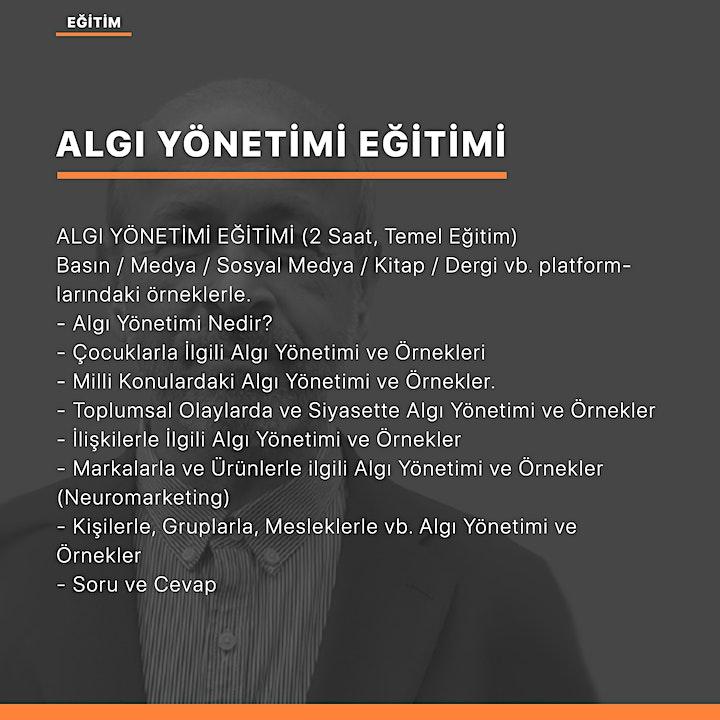 İlişkilerde Algı Yönetimi (Aydın Türkgücü) image