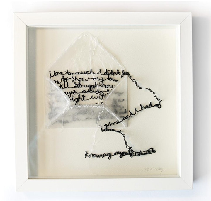 Embroiderers' Guild THREAD TALKS. Maria Wigley: My Practice image