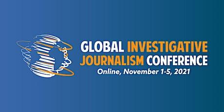 Global Investigative Journalism Conference (#GIJC21), Nov. 1-5, Online tickets