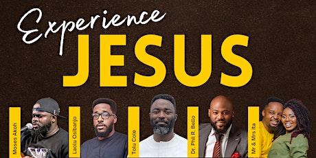 Experience Jesus tickets