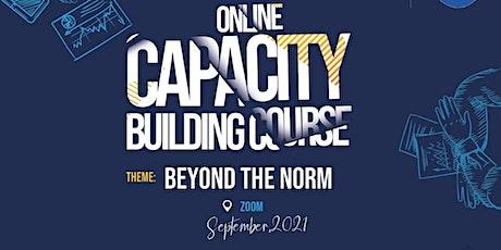 Online Capacity Building Course tickets