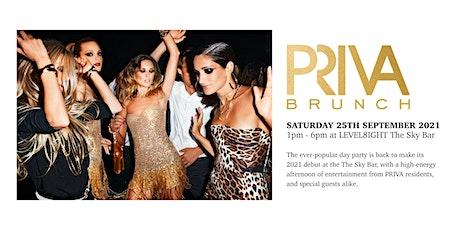 PRIVA Brunch - September 25th - LEVEL8IGHT The Sky Bar tickets