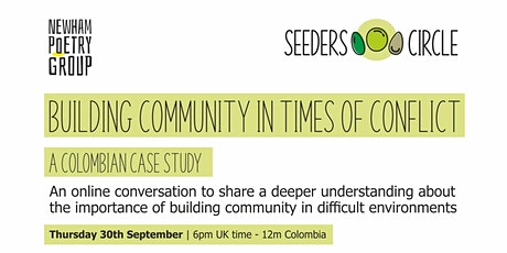 Building Community In Times of Conflict - a Colombian case study tickets