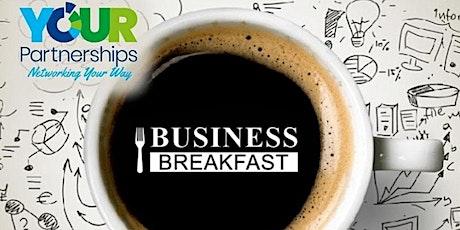 Online Breakfast Networking tickets