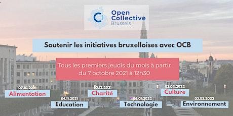 Soutenir les initiatives bruxelloises avec Open Collective Brussels billets