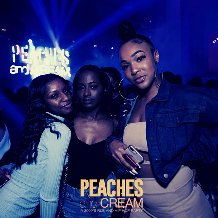 Peaches And Cream - A R&B And Hip Hop Throwback Party image