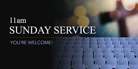 11am Baptismal Service tickets