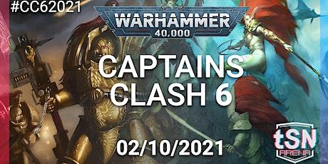 Captains Clash 6 - 40k 16 man singles event tickets