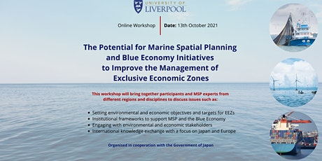 Webinar: MSP and Blue Economy Initiatives in Europe and East Asia/Japan tickets