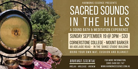 SOLD OUT - Sacred Sounds In The Hills - Sound Bath & Meditation Journey tickets