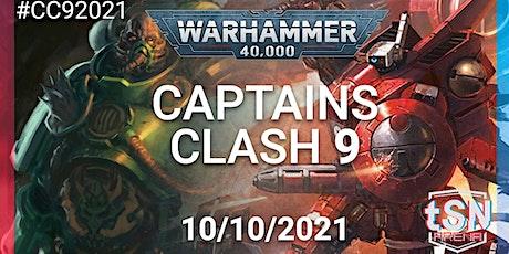 Captains Clash 9 - 40k 16 man singles event tickets