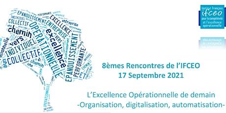 8è Rencontre IFCEO -Digitalisation de l'excellence opérationnelle billets