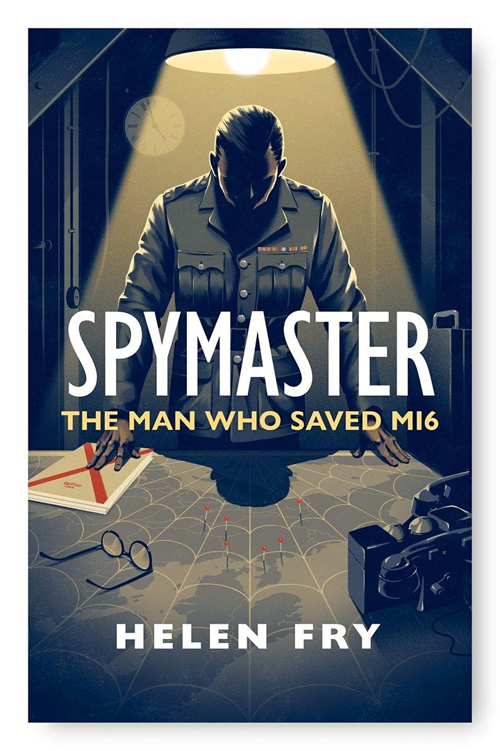 An online evening with Helen Fry discussing her new book 'Spymaster'. image