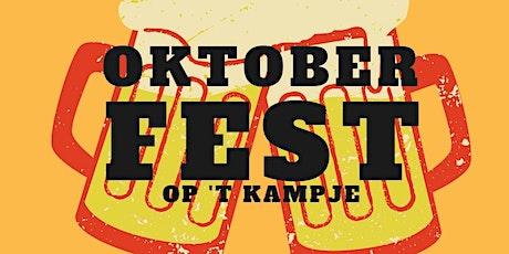 Oktoberfest op 't Kampje tickets