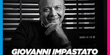 """GIOVANNI IMPASTATO  a Cosenza (21-09-2021 ore 18:00) per """"Music for Change"""" biglietti"""