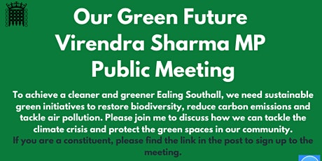 Our Green Future tickets