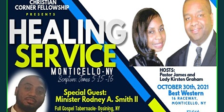 The Monticello New York Healing Service tickets