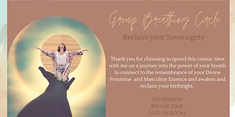 Monthly Breathing Circles- Reclaim your Sovereignty tickets