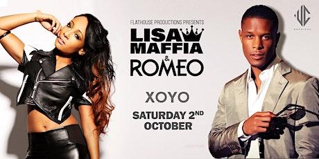 FHP Presents - Lisa Maffia & Romeo tickets
