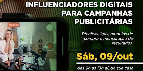 Workshop | Influenciadores Digitais para Campanhas Publicitárias ingressos