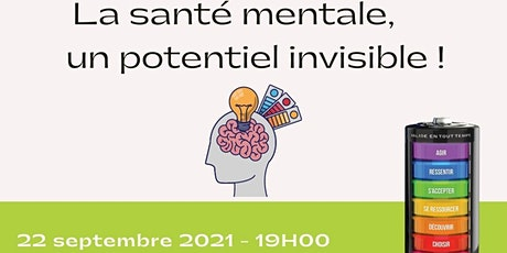 Conférence populaire Zoom: La santé mentale, un potentiel invisible ! billets