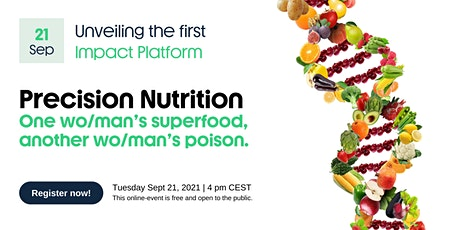 Precision Nutrition - One wo/man's superfood,  another wo/man's poison tickets