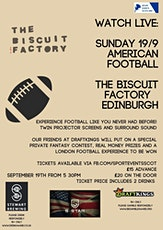 American Football Watch Party tickets