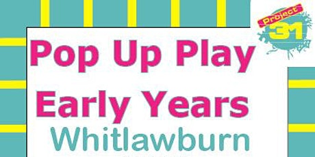 Pop Up Play - Early Years tickets