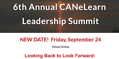 2021 CANeLearn Leadership Summit - Online tickets