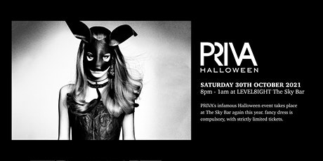 PRIVA Halloween - October 30th - LEVEL8IGHT The Sky Bar tickets