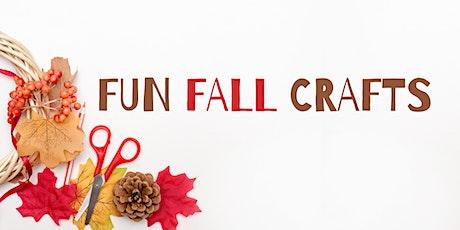 Fun Fall Craft Kit tickets