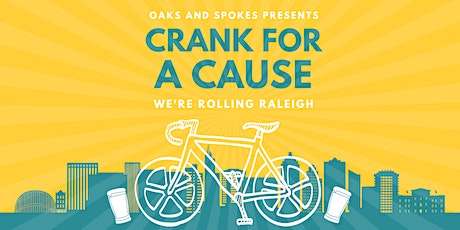 Oaks and Spokes Crank for a Cause Fundraiser Ride tickets