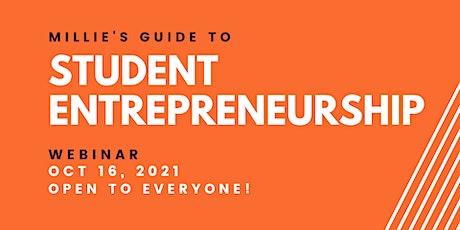 WEBINAR | Millie's Guide to Student Entrepreneurship tickets