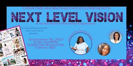 Next Level Vision Board Workshop tickets